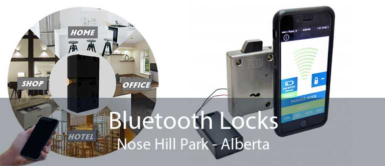 Bluetooth Locks Nose Hill Park - Alberta