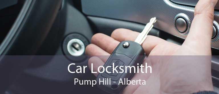 Car Locksmith Pump Hill - Alberta