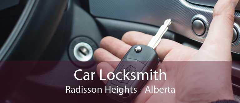 Car Locksmith Radisson Heights - Alberta