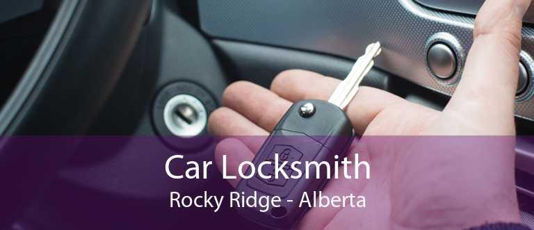 Car Locksmith Rocky Ridge - Alberta