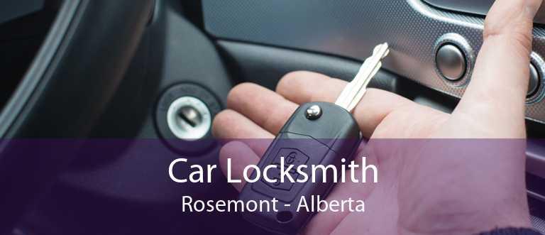 Car Locksmith Rosemont - Alberta