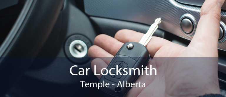 Car Locksmith Temple - Alberta