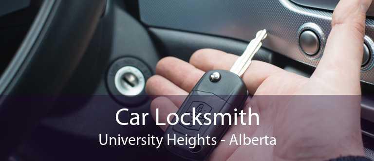 Car Locksmith University Heights - Alberta