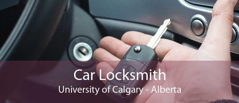 Car Locksmith University of Calgary - Alberta
