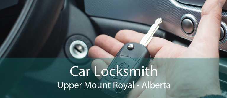 Car Locksmith Upper Mount Royal - Alberta