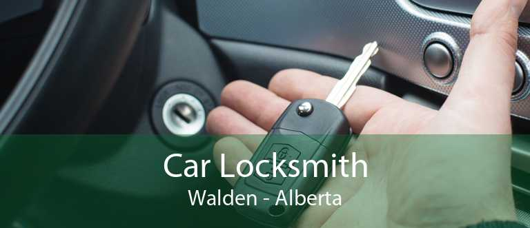 Car Locksmith Walden - Alberta