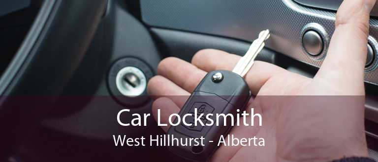 Car Locksmith West Hillhurst - Alberta