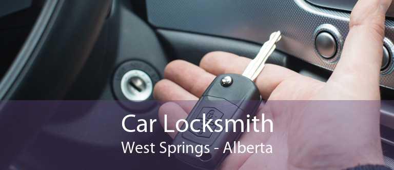 Car Locksmith West Springs - Alberta