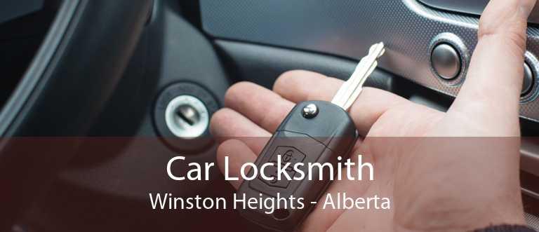 Car Locksmith Winston Heights - Alberta