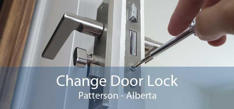 Change Door Lock Patterson - Alberta