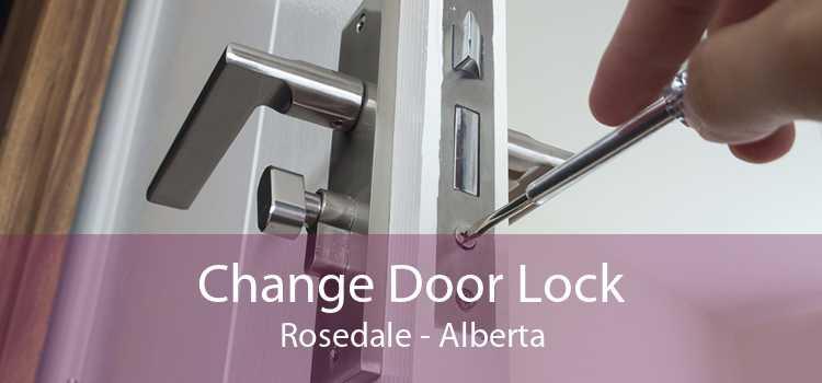 Change Door Lock Rosedale - Alberta