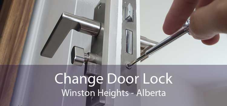 Change Door Lock Winston Heights - Alberta