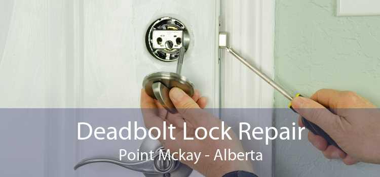 Deadbolt Lock Repair Point Mckay - Alberta