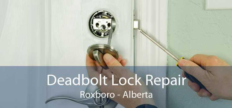 Deadbolt Lock Repair Roxboro - Alberta