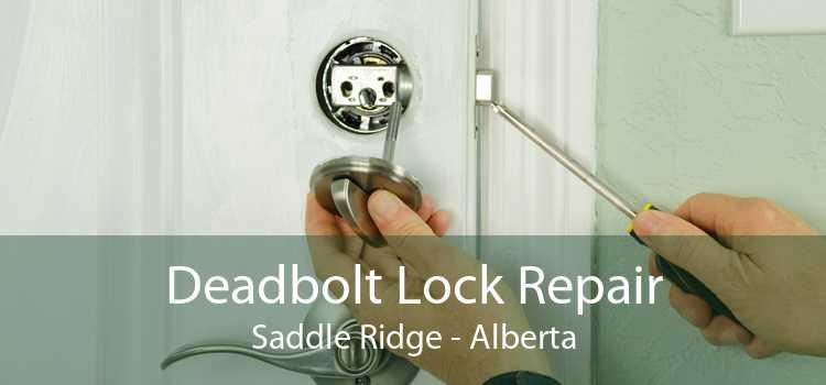 Deadbolt Lock Repair Saddle Ridge - Alberta