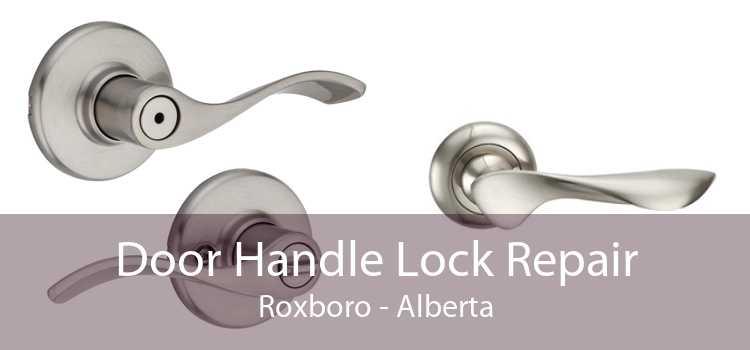 Door Handle Lock Repair Roxboro - Alberta