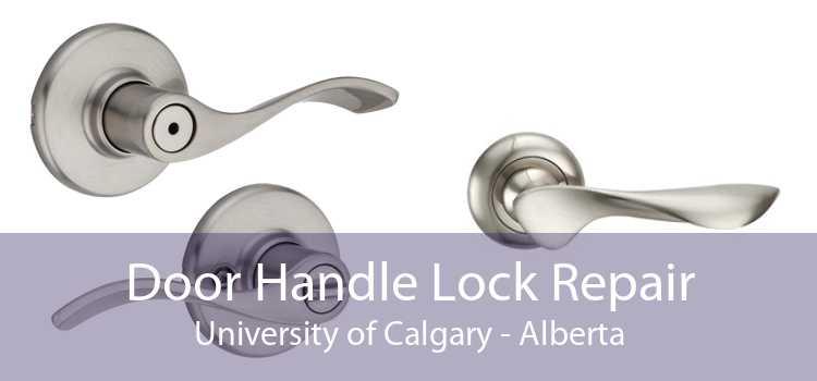 Door Handle Lock Repair University of Calgary - Alberta
