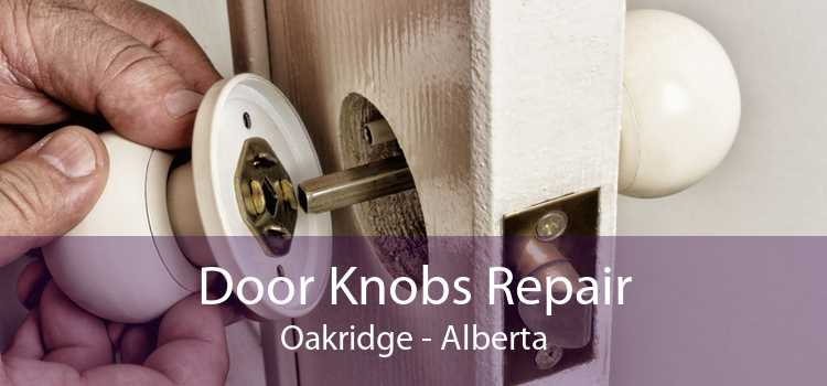 Door Knobs Repair Oakridge - Alberta