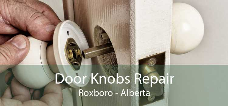 Door Knobs Repair Roxboro - Alberta