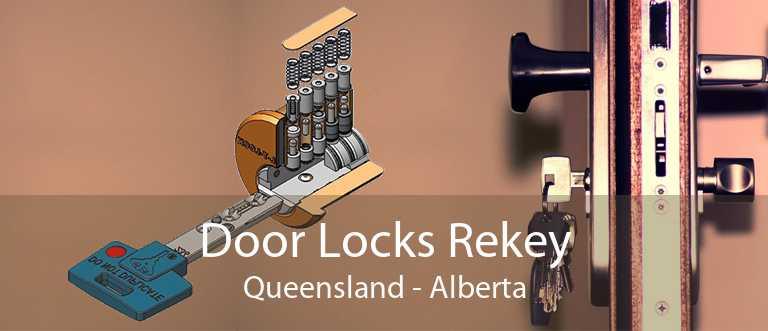 Door Locks Rekey Queensland - Alberta