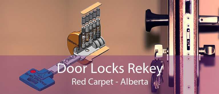 Door Locks Rekey Red Carpet - Alberta