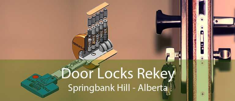 Door Locks Rekey Springbank Hill - Alberta