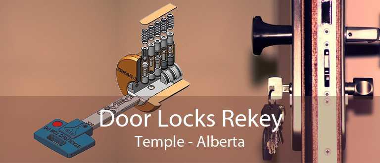 Door Locks Rekey Temple - Alberta