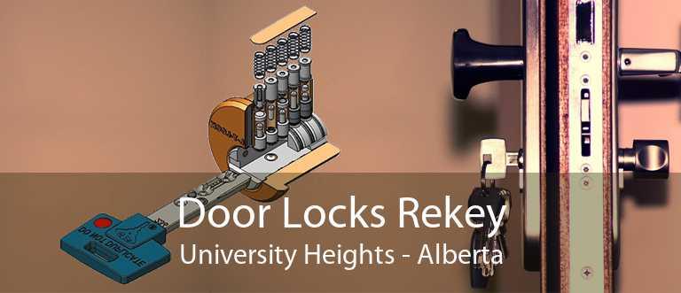Door Locks Rekey University Heights - Alberta
