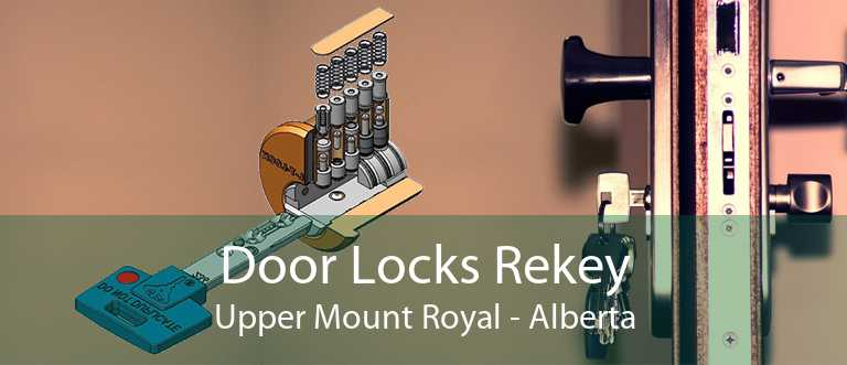 Door Locks Rekey Upper Mount Royal - Alberta