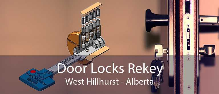 Door Locks Rekey West Hillhurst - Alberta