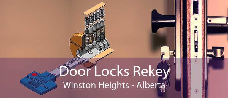 Door Locks Rekey Winston Heights - Alberta