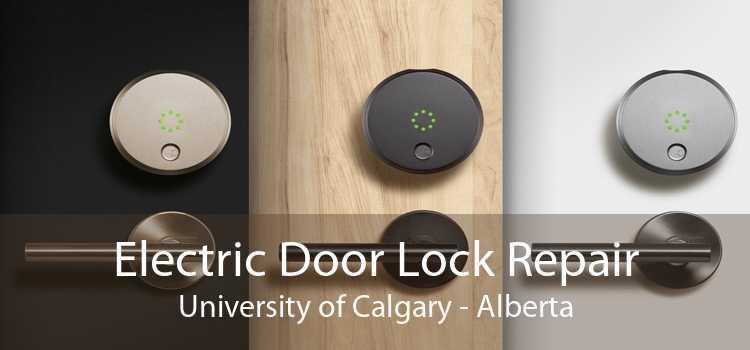 Electric Door Lock Repair University of Calgary - Alberta