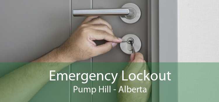 Emergency Lockout Pump Hill - Alberta