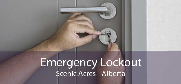 Emergency Lockout Scenic Acres - Alberta