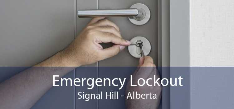 Emergency Lockout Signal Hill - Alberta