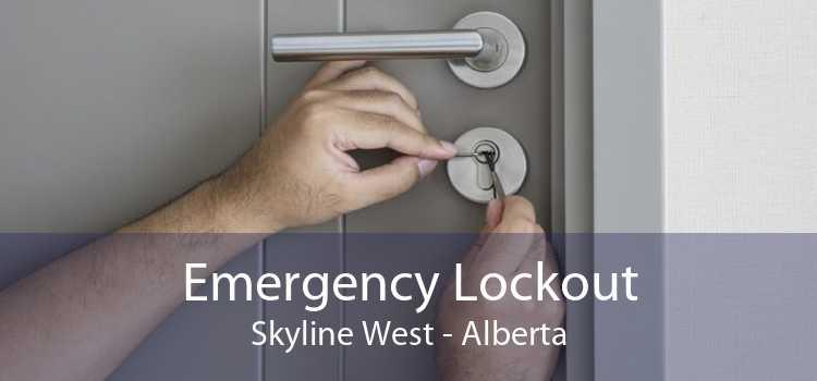 Emergency Lockout Skyline West - Alberta