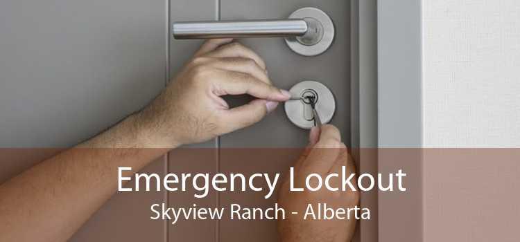 Emergency Lockout Skyview Ranch - Alberta