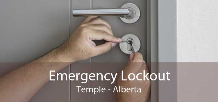Emergency Lockout Temple - Alberta