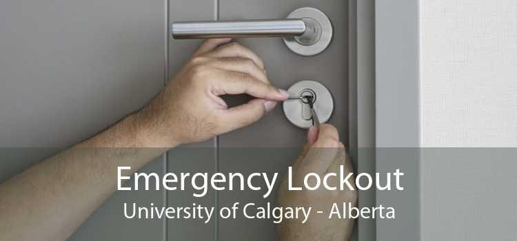 Emergency Lockout University of Calgary - Alberta