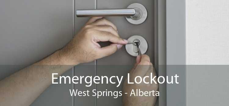 Emergency Lockout West Springs - Alberta