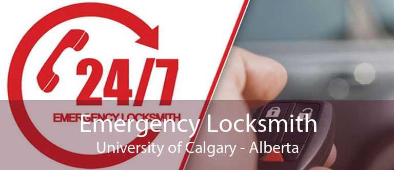 Emergency Locksmith University of Calgary - Alberta