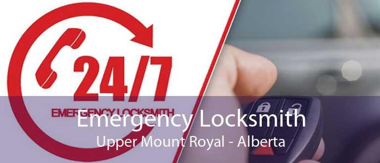 Emergency Locksmith Upper Mount Royal - Alberta