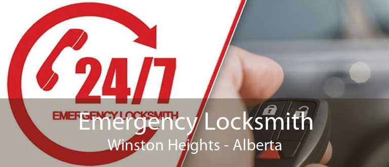 Emergency Locksmith Winston Heights - Alberta