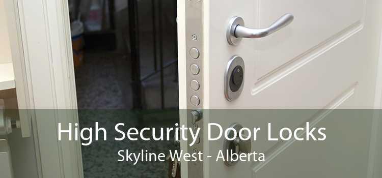High Security Door Locks Skyline West - Alberta