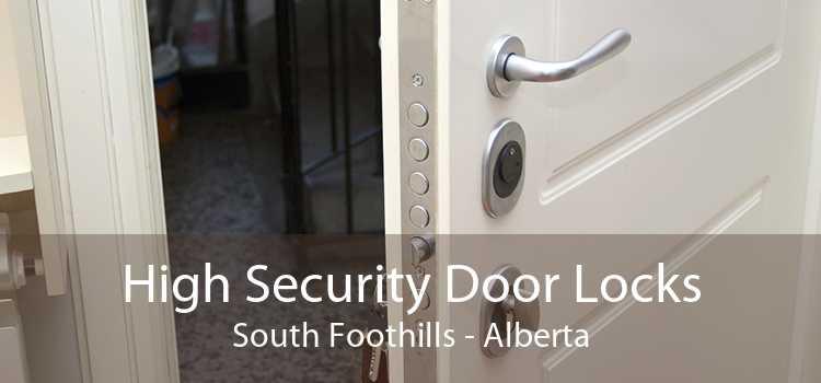 High Security Door Locks South Foothills - Alberta