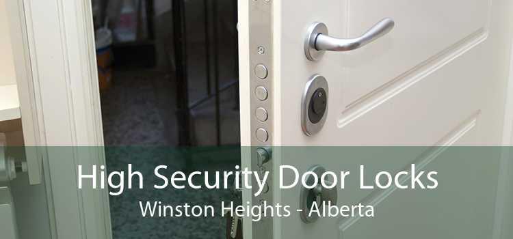 High Security Door Locks Winston Heights - Alberta
