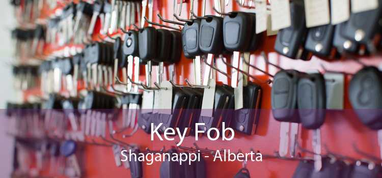 Key Fob Shaganappi - Alberta